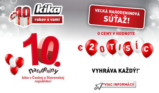 5b2ff0ef2f Súťažte so spoločnosťou Kika Nábytok o ceny za 20-tis. eur - ABC ...